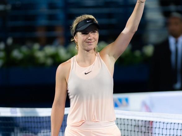 Світоліна вийшла у фінал престижного турніру вДубаї