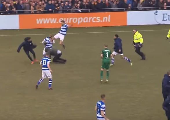 Фанати у Нідераландах напали награвців своєї команди