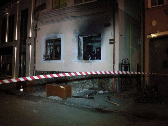 Поджог венгерского общества в Ужгороде переквалифицировали в теракт