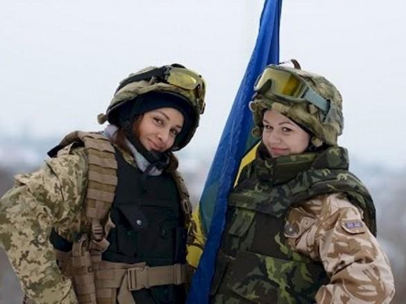 Близько 7 тис. жінок, які служать в армії, виконували завдання у зоні АТО