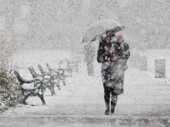 18 березня уЛьвівській області сильні снігопади