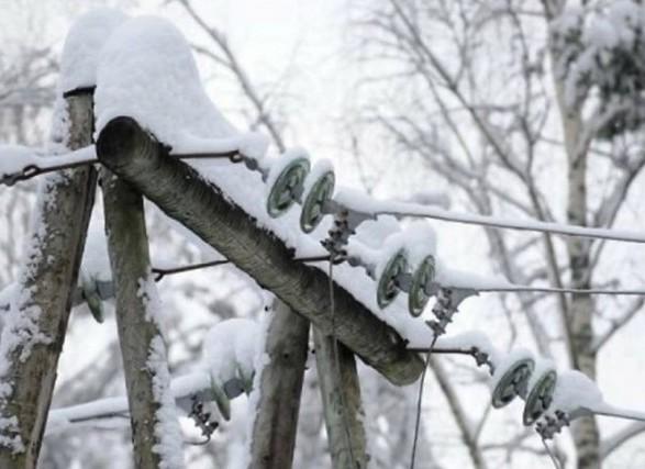 Негода знеструмила 134 населених пункти в Україні