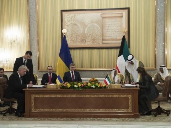 Україна домовилась з Кувейтом про постачання озброєння