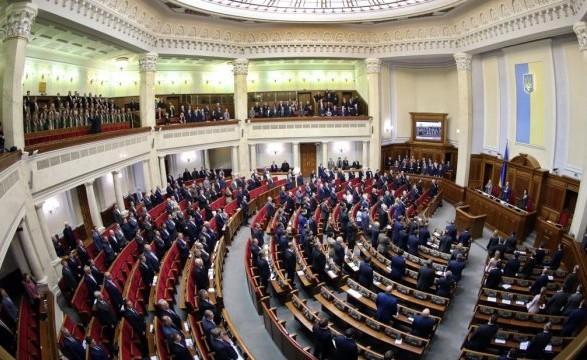 Рада затвердила порядок денний восьмої сесії