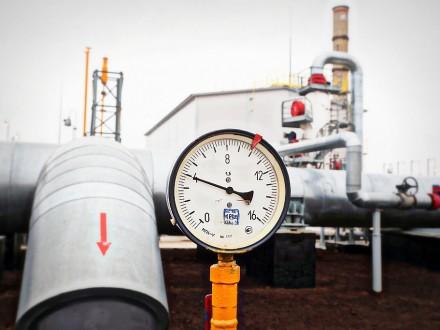 Запасы газа вподземных хранилищах государства Украины  снизились вполовину