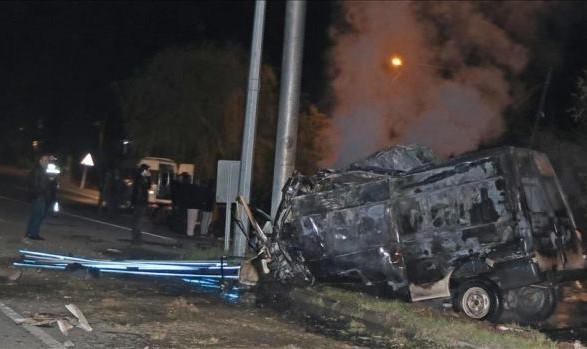 Унаслідок аварії мікроавтобуса насході Туреччини загинули 17 нелегальних мігрантів, 36 постраждали