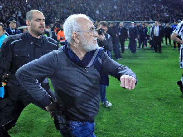 Саввіді відсторонили від футболу на3 роки, азПАОКа зняли очки