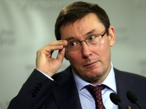 Луценко показал свою декларацию: заработная плата неменее млн грн