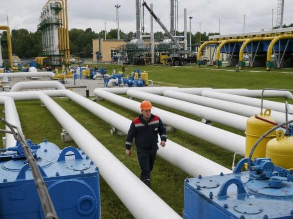 Украина доминимума снизила импорт газа