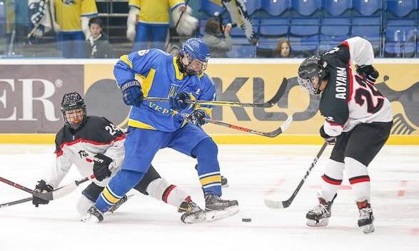 Юніорська збірна України зхокею перемогла Австрію уматчі чемпіонату світу