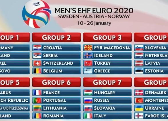 Стали известны соперники гандбольной сборной Белоруссии  вквалификации Евро