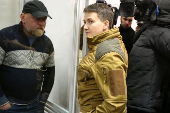 Савченко таРубан незбираються свідчити слідству— СБУ