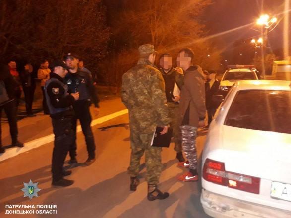 Четверо неизвестных открыли стрельбу по прохожему в Мариуполе