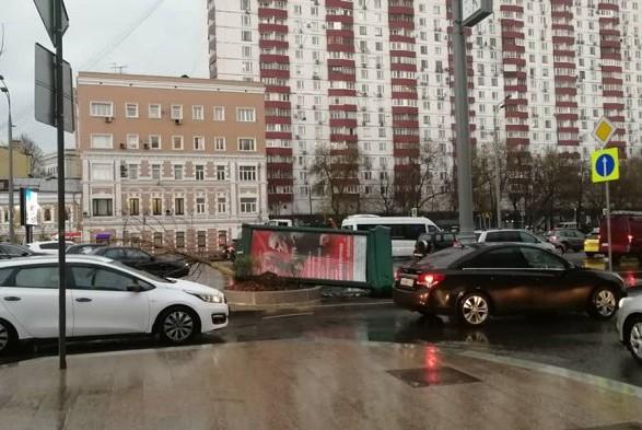 З'явилися фото наслідків урагану вМоскві