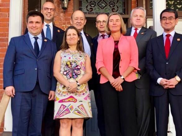 Клімкін прибув назустріч міністрів G7, куди вперше запросили Україну