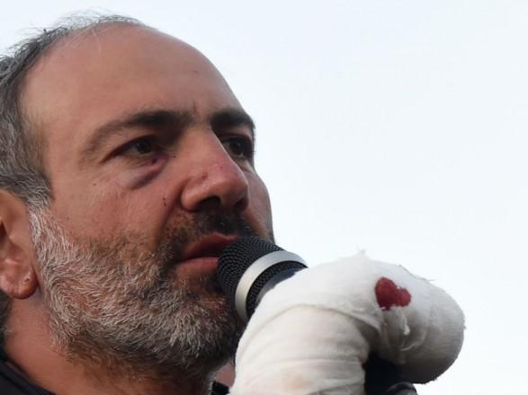 Поліція Вірменії затримала лідера опозиційних сил Ніколу Пашиняна (ВІДЕО)