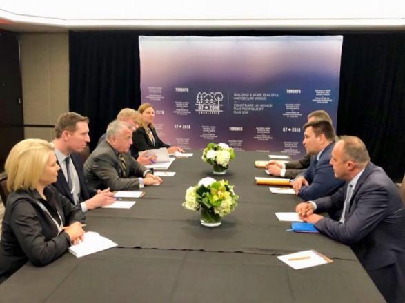 УКанаді пройшла зустріч дипломатів Великої сімки заучасті України