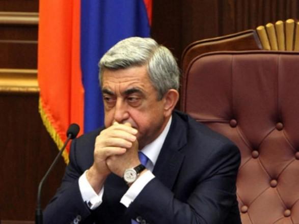 Прем'єр Вірменії пішов у відставку
