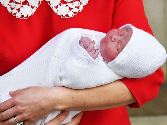 Відомо, якназвали свого сина Кейт Міддлтон і принц Вільям