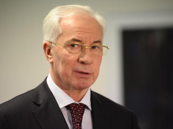 Азарова залишили усанкційному списку Ради ЄС