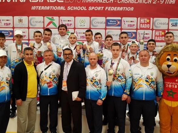Українські боксери зайняли перше загальнокомандне місце на Гімназіаді