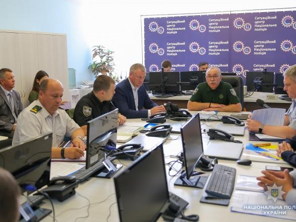 Поліція семи регіонів країни сьогодні працюватимуть у посиленому режимі