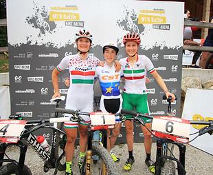 Велосипедистка Беломоіна виборола перше