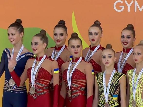 """Українські гімнастки вибороли """"срібло"""" на чемпіонаті Європи"""