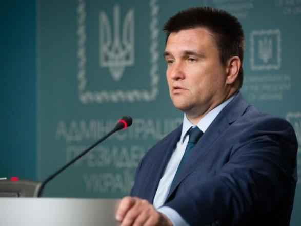 Клімкін заявив про необхідність тиску на РФ в питанні звільнення затриманих осіб