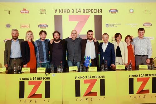 """Український фільм """"IZI"""" отримав приз на кінофестивалі в Нью-Джерсі"""