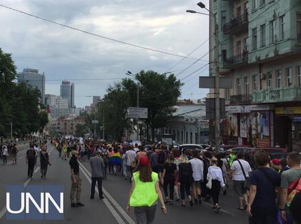 """Поліція: у """"Марші рівності"""" в Києві взяли участь близько 3 тисяч осіб"""