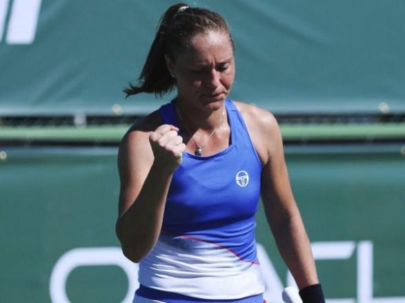 Теннисистка Бондаренко выиграла стартовый поединок на соревнованиях WTA в Бирмингеме