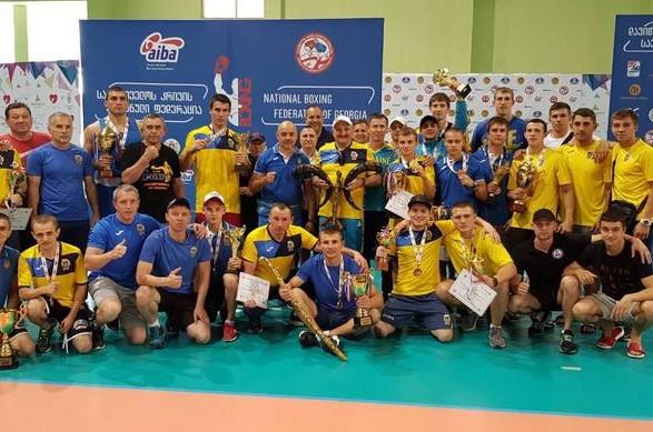 Українські боксери завоювали низку медалей на турнірі в Грузії