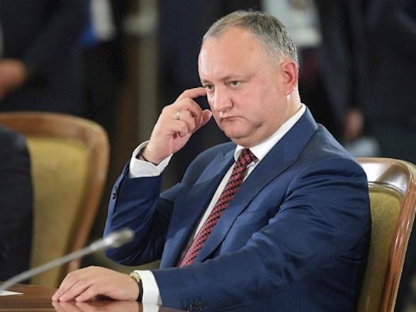 Додон про резолюцію Генасамблеї ООН: уряд Молдови вчинив антиросійський демарш