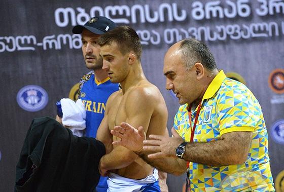 Українські борці здобули чотири нагороди на турнірі в Грузії