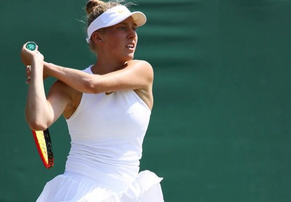 Українська тенісистка пробилася до другого кола юніорського