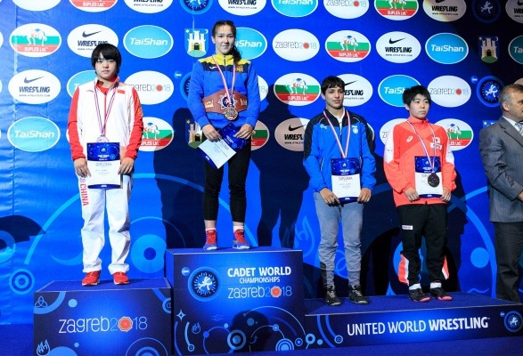 Українські борці виграли чотири нагороди на юнацькому чемпіонаті світу