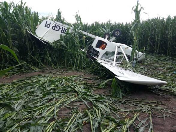 В Сумской области разбился самолет: пилот погиб