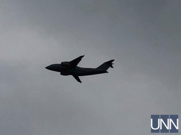 """Україна продемонструвала новітній Ан-178 на авіаційно-космічному салоні """"Фарнборо"""""""