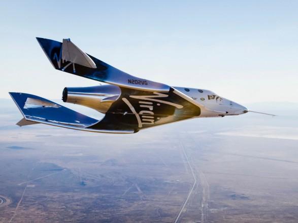 Пілоти Virgin Galactic уперше розігнали космічний корабель до швидкості понад 2 Маха