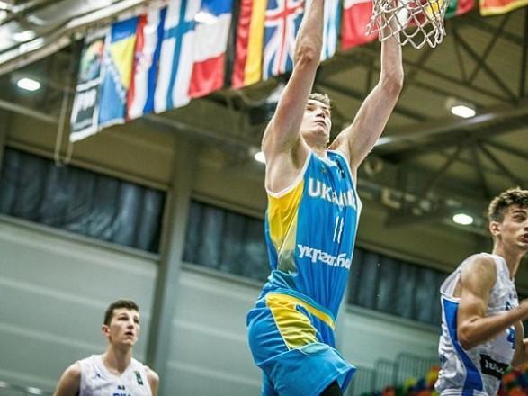 Юніорська збірна України з баскетболу здобула перший виграш на ЧЄ