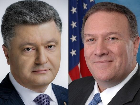 Порошенко обговорив із Держсекретарем США протидію російській агресії