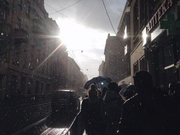 Запад Украины завтра накроет дождями