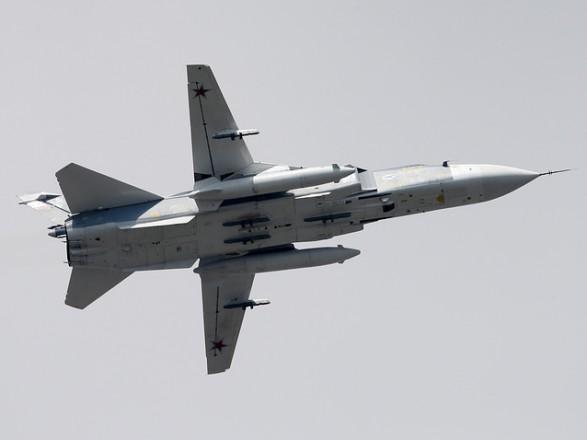 ВПС Британії заявили про перехоплення російських Су-24 над Чорним морем, РФ заперечує