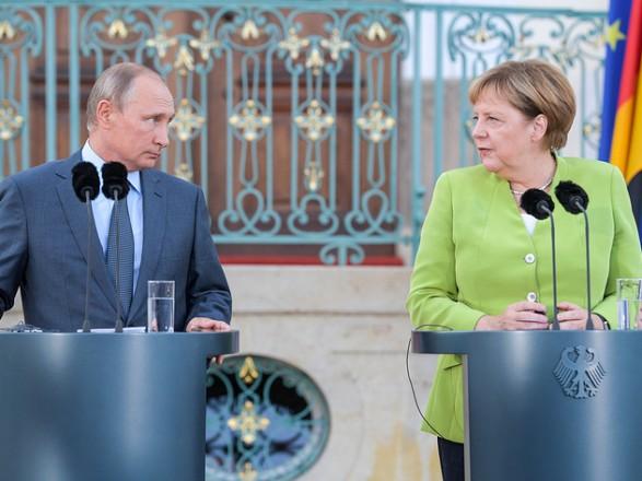 Вчора завершилися  переговори Меркель і Путіна