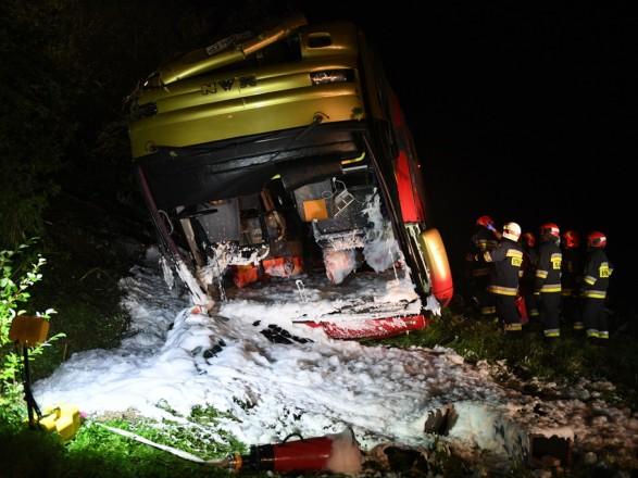 У Польщі назвали попередню причину ДТП з українським автобусом