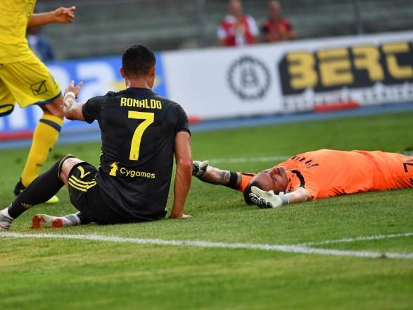 Роналду яскраво заспівав напосвяченні вгравці «Ювентуса»