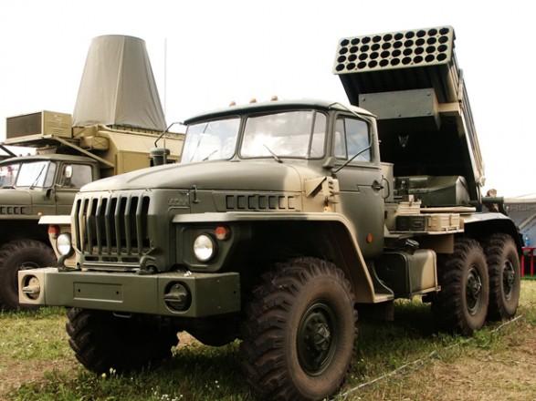 """Хуг показав сім ворожих """"Градів"""" поблизу лінії зіткнення на Донбасі"""