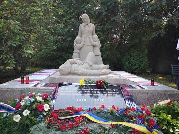 В Чехии открыли отреставрированный памятник воинам Украинской Галицкой армии
