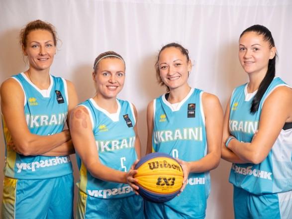 Жіноча збірна України зперемоги стартувала начемпіонаті Європи збаскетболу 3х3